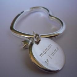 Grand Porte clé coeur