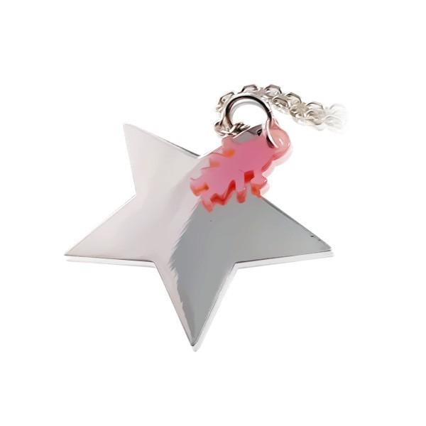 Collier pendentif Etoile Silhouette Nacre fille ou Garçon