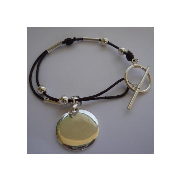 Médaille avec fermoir bijou