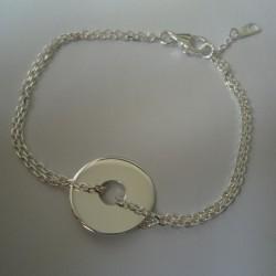 Bracelet cible gravée