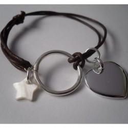 Bracelet personalisé cordon