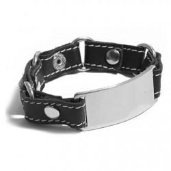 Bracelet Cuir et Métal