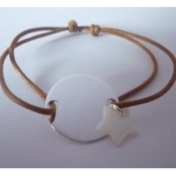 Bracelet petite médaille