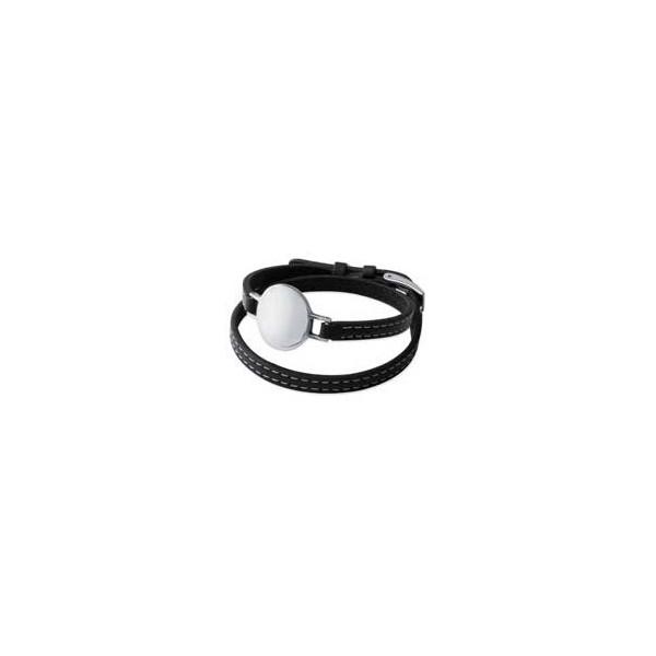 Bracelet velours Médaille coeur