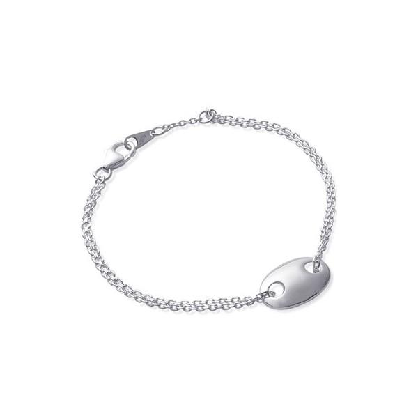 Bracelet maille boule