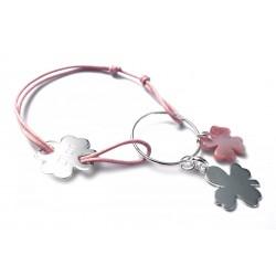 Bracelet gravé Porte Bonheur