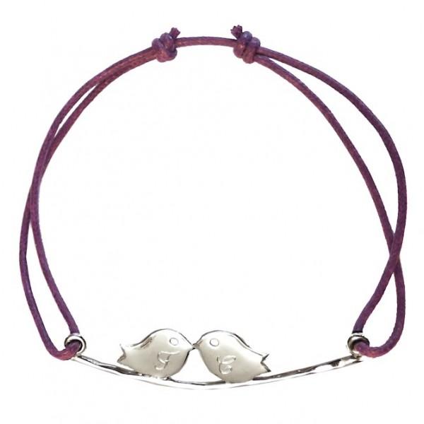 Bracelet Oiseaux Amoureux