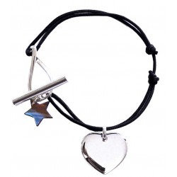 Bracelet Médaille Et Fermoir bijou Infini