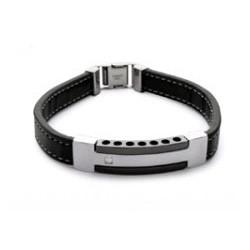 Bracelet Acier et Ruthénium