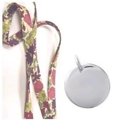 Bracelet Liberty Médaille Acier